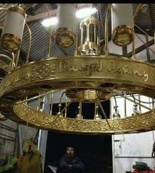 Lampu Gantung Masjid Nabawi 1