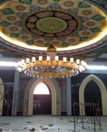 Lampu Gantung Masjid Nabawi